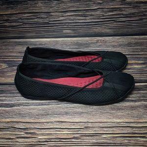 Clarks Privo Penny Womens Size 10 Black Slip On